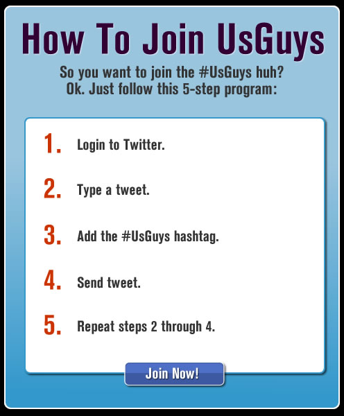 How To Join UsGuys